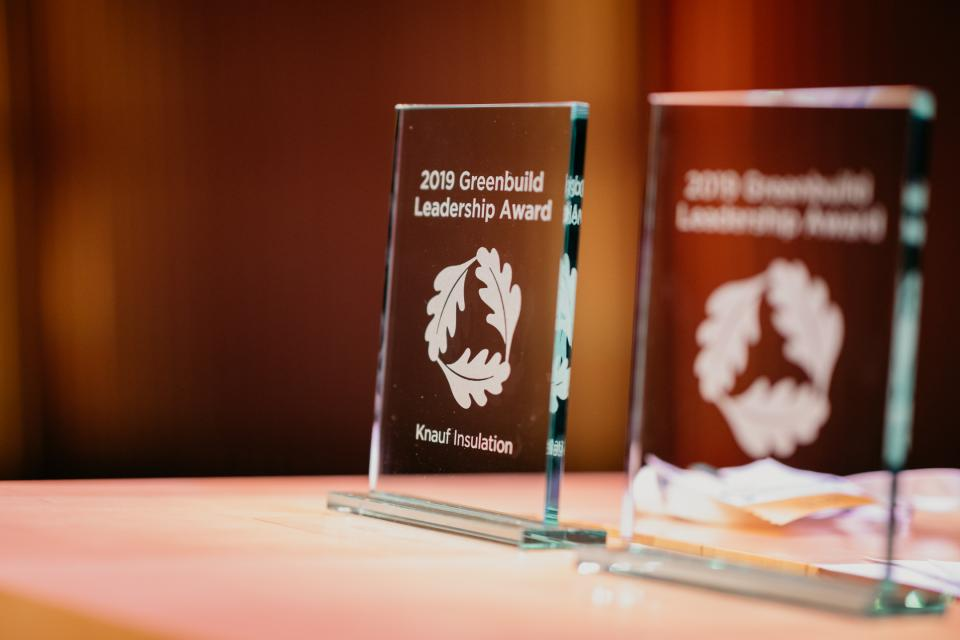 Knauf Insulation premiata con il Greenbuild Leadership Award 2019